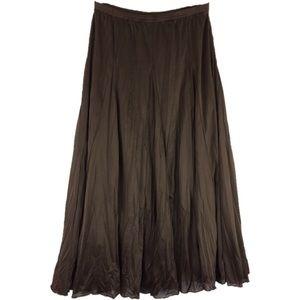 Christopher & Banks Brown Skirt